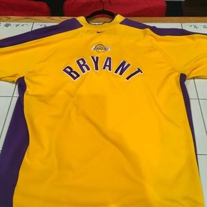 RARE Kobe Bryant Lakers Nike Pre Game Jersey XL
